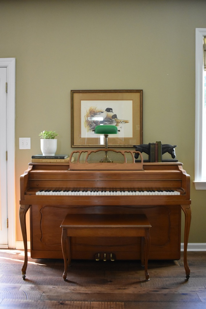 Our Vintage Piano