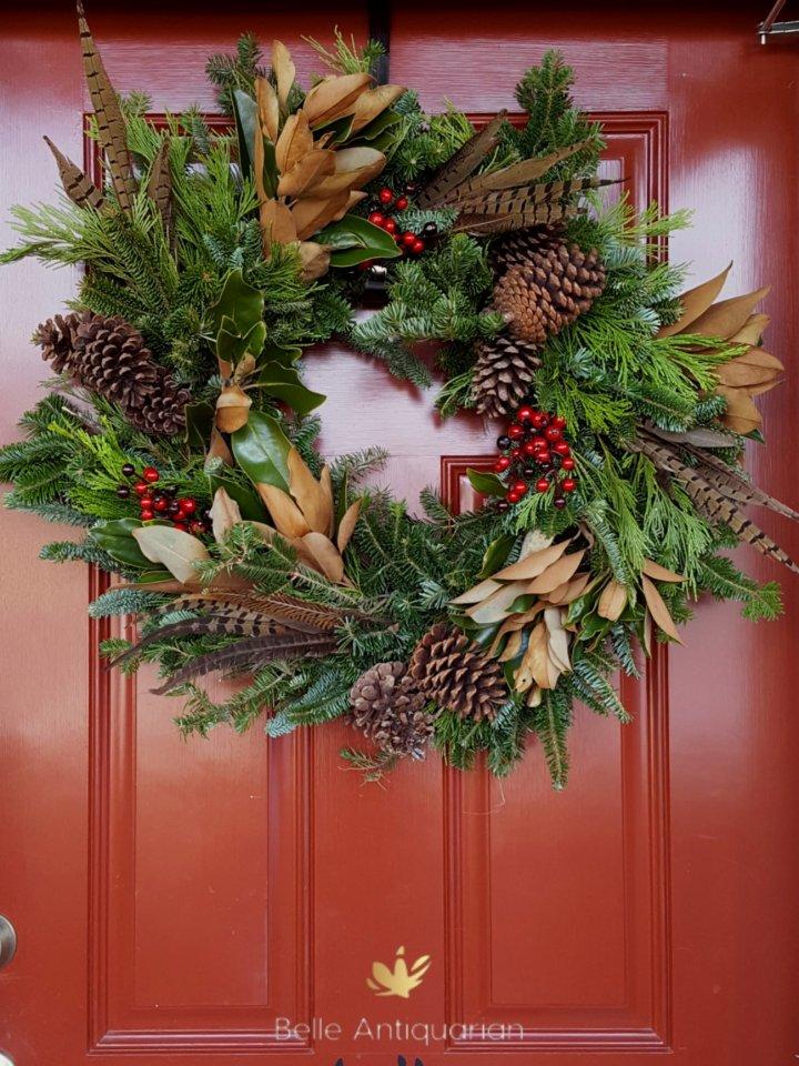 Costco Wreath Hack