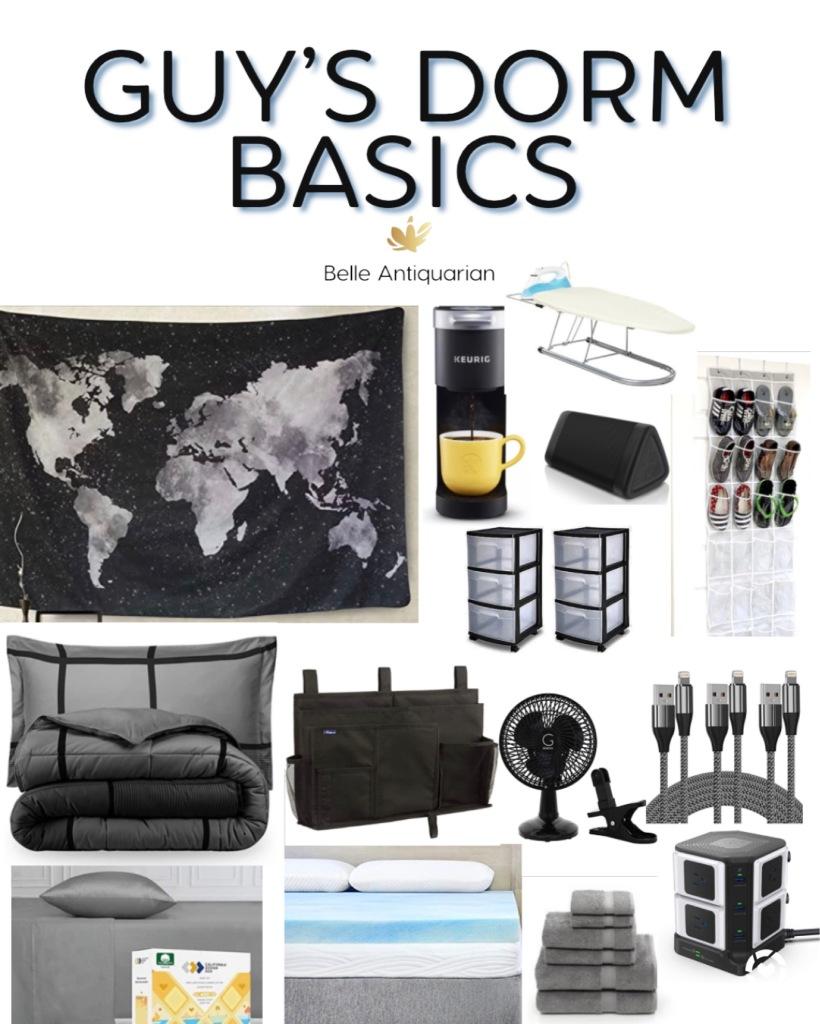 Guy's Dorm Room decor basics