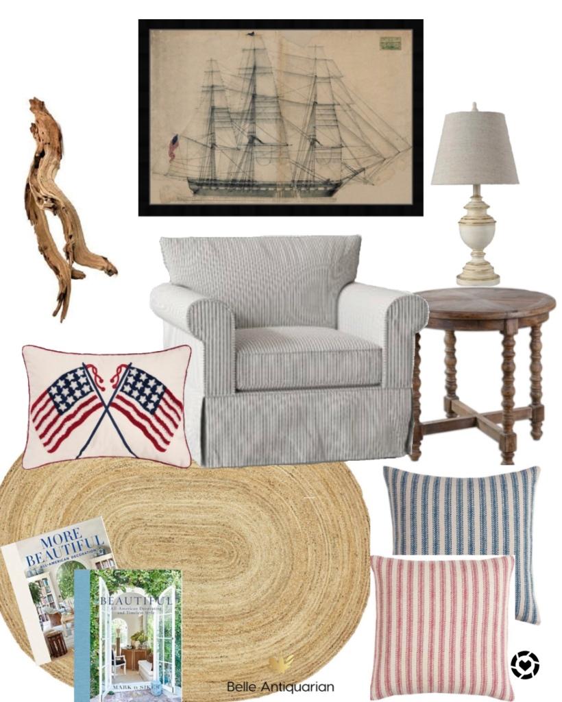 Americana interior design