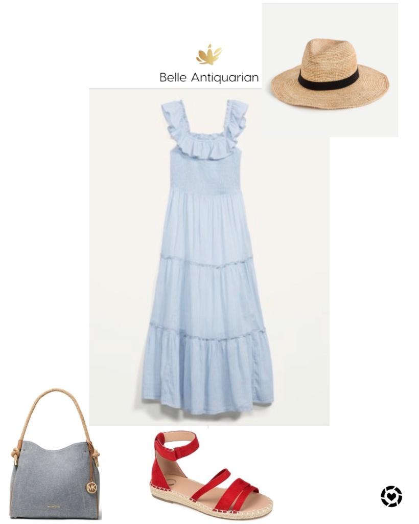 Summer dress outfit